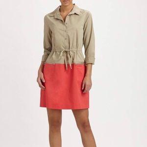 Elie Tahari | Farrell Colorblock Trench Dress